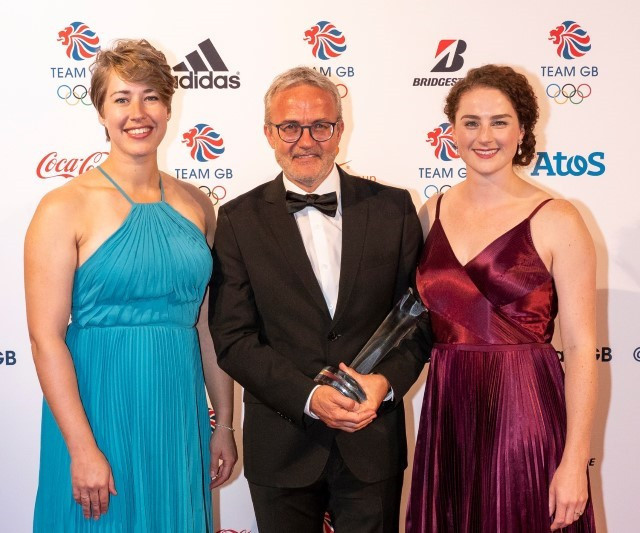 Clean sweep of awards for British Skeleton at Team GB Ball