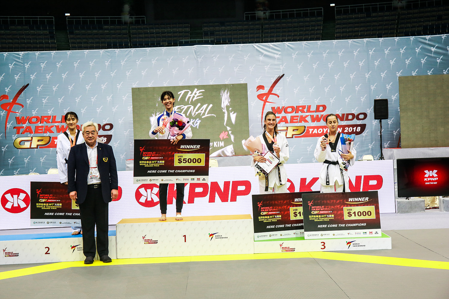 Thailand's Panipak Wongpattanakit topped the women's under-49kg podium ©World Taekwondo