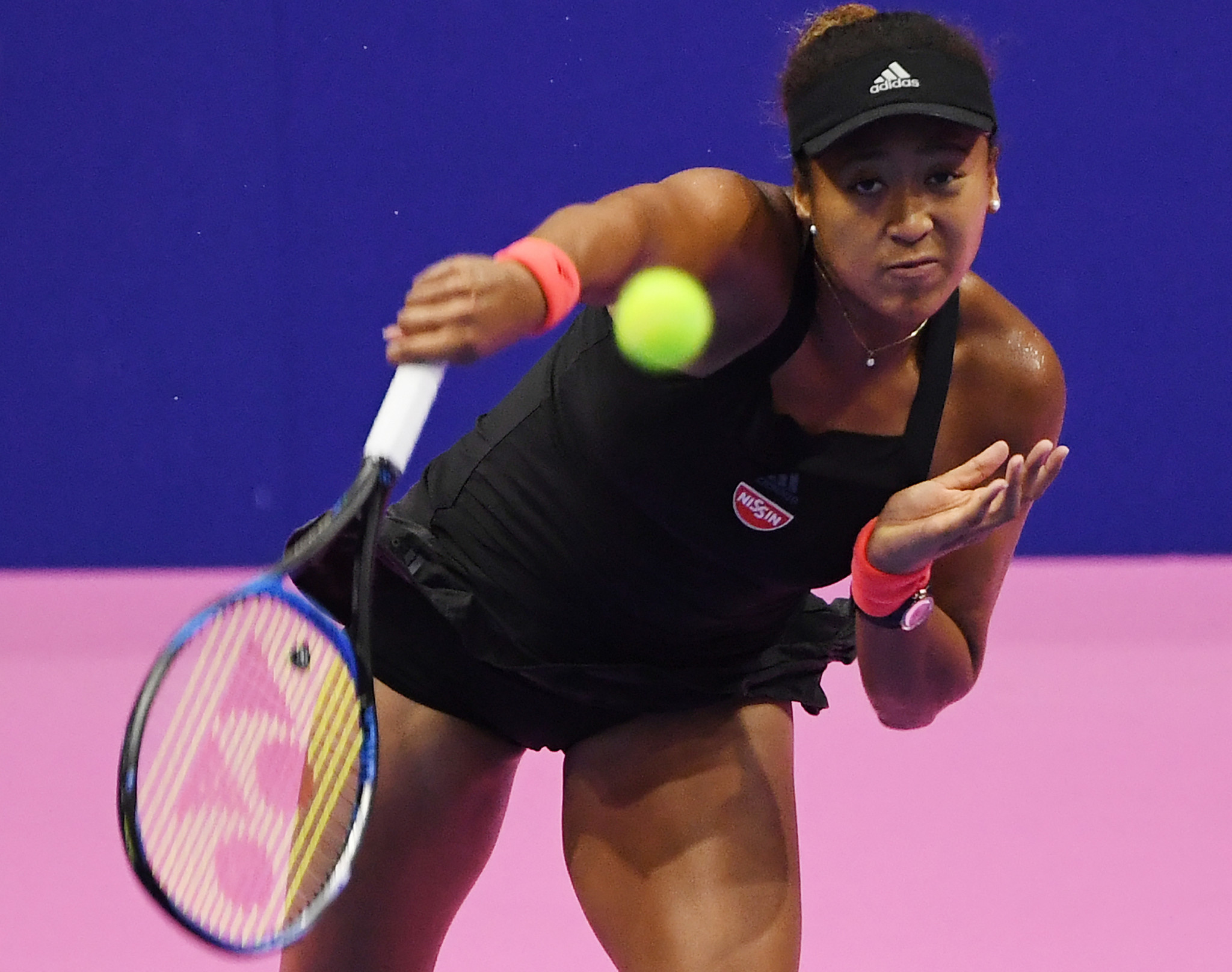 Naomi Osaka of Japan is through to the semi-finals of the Pan Pacific Open in Japan after beating Czech Barbora Strýcová ©Getty Images