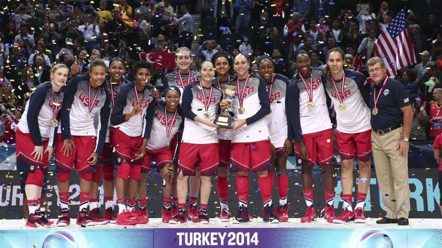 Top names seek to earn tenth FIBA Women's Basketball world title for United States in Spain