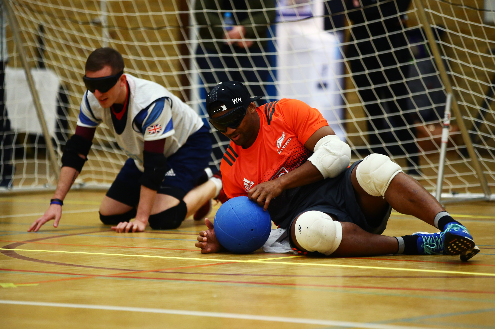The IBSA Goalball European Championships are due to begin in Poland, a sport played by blind and visually impaired players ©Getty Images