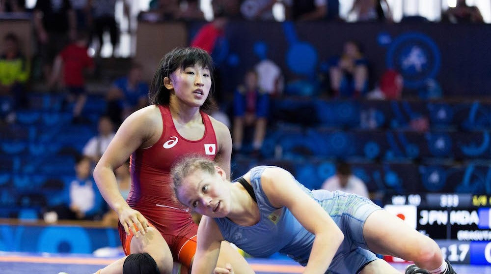 Japan shine on first day of women's finals at UWW Junior World Championships