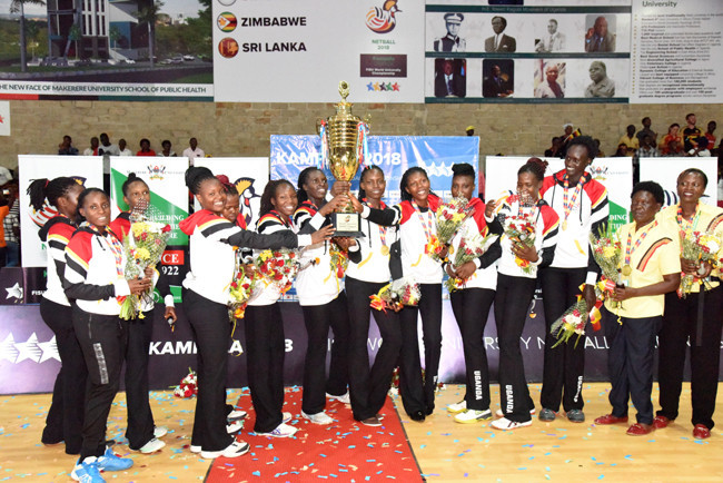 Uganda beat reigning champions South Africa to win World University Netball title on home soil