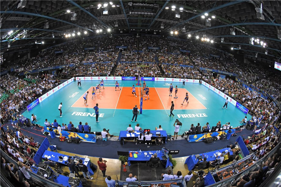 Co-hosts Italy maintain perfect record as FIVB Men's World Championships start second round