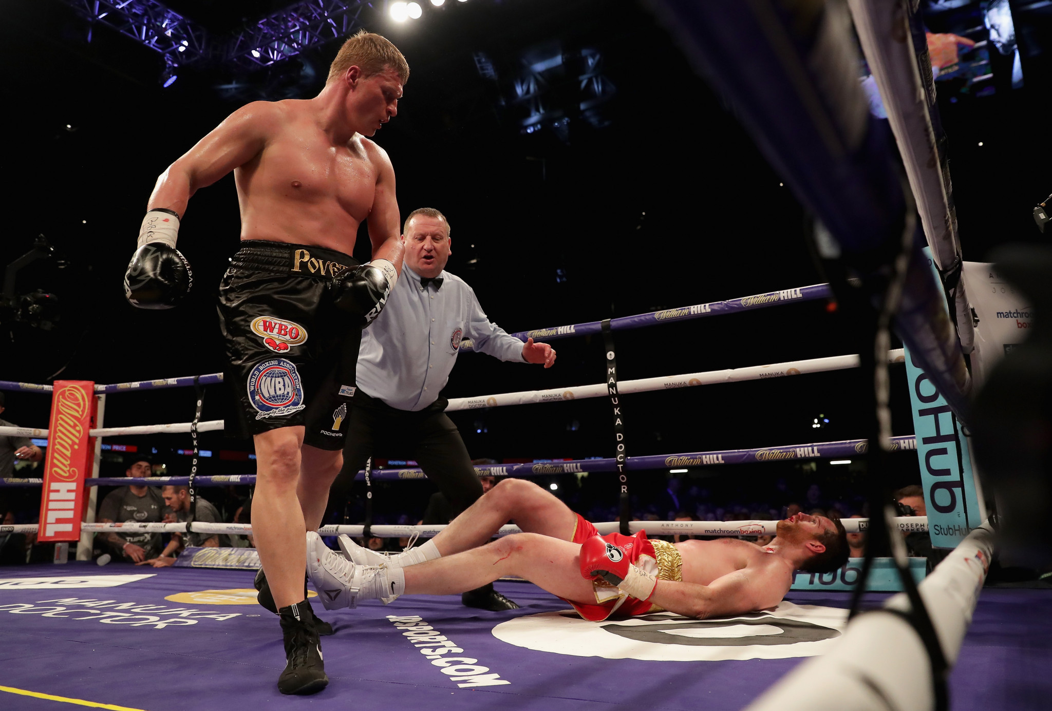 Russia's world heavyweight champion and Olympic gold medallist Alexander Povetkin has twice failed drugs tests during his professional career but been allowed to continue fighting ©Getty Images