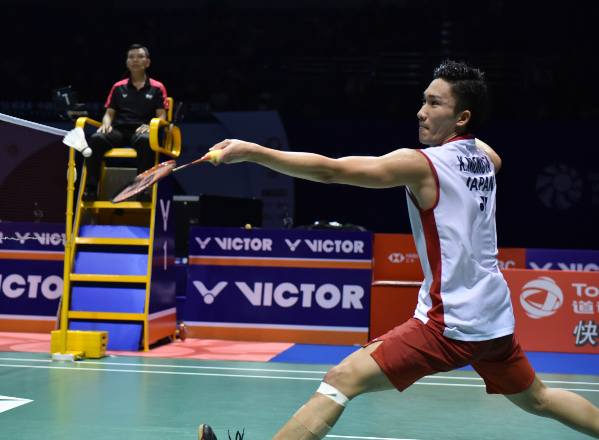 World champion Momota through to BWF China Open final after beating home favourite