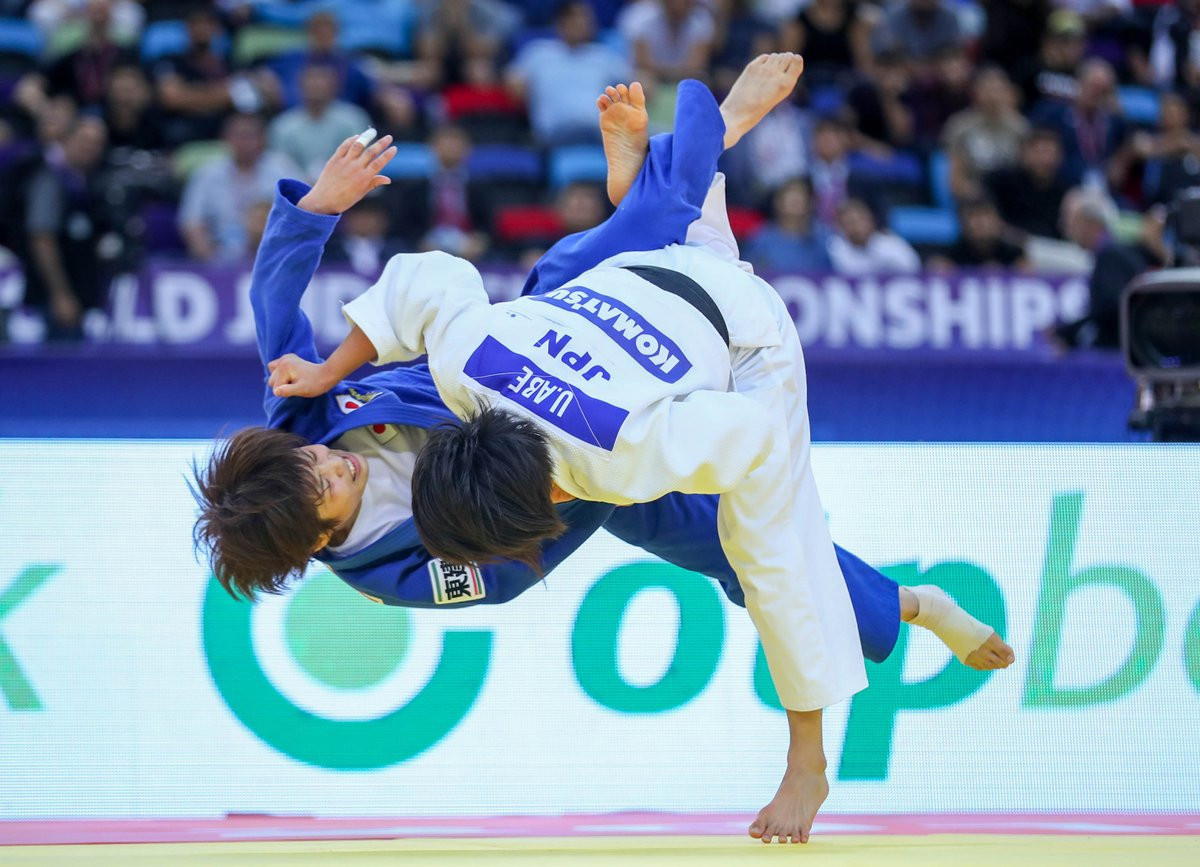 World Judo Championships: Day three of competition