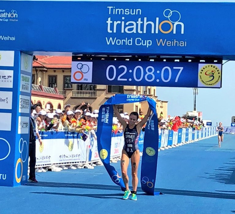 Iden and Spivey secure ITU World Cup victories in Weihai