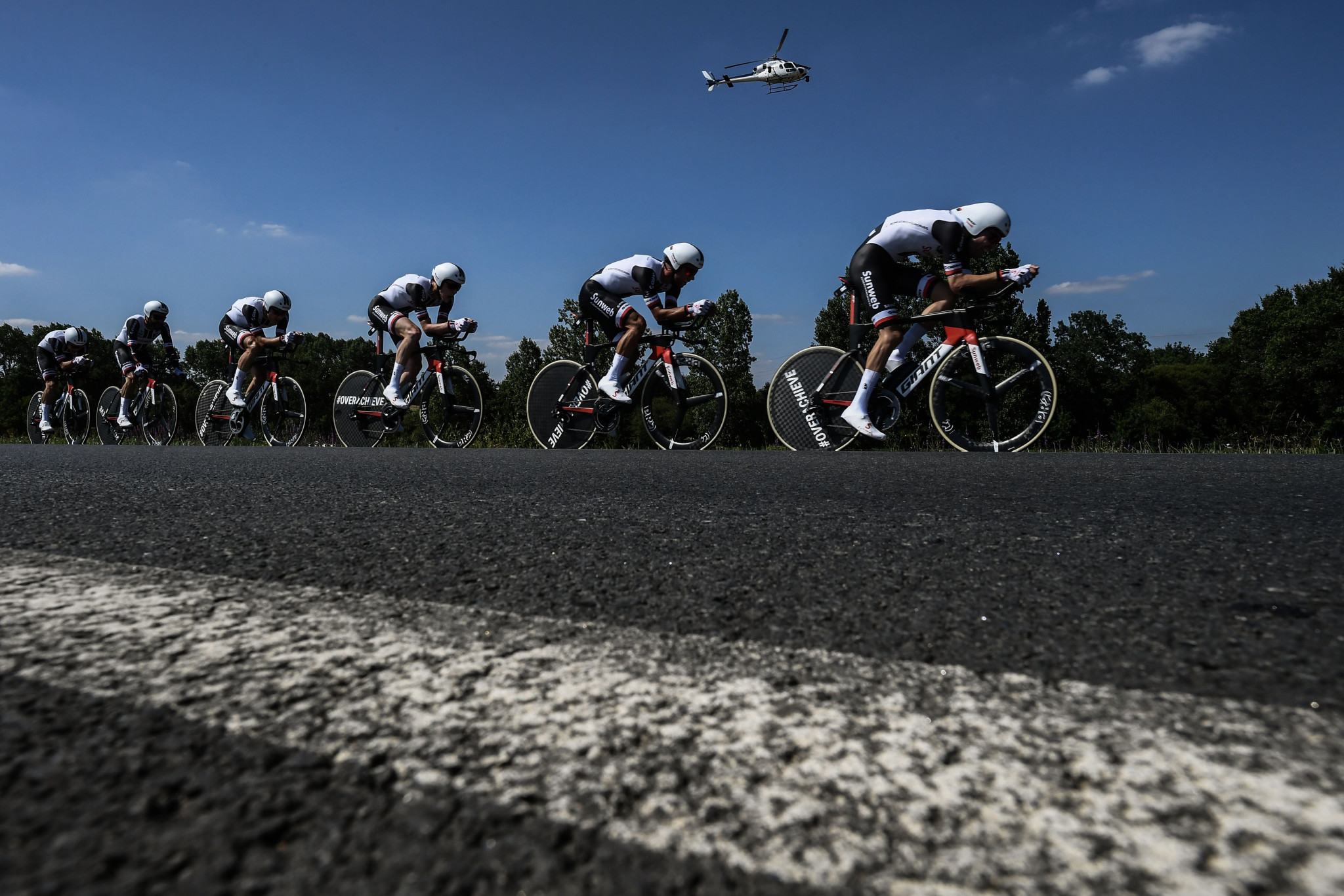 Team time trials to open UCI Road World Championships in Innsbruck