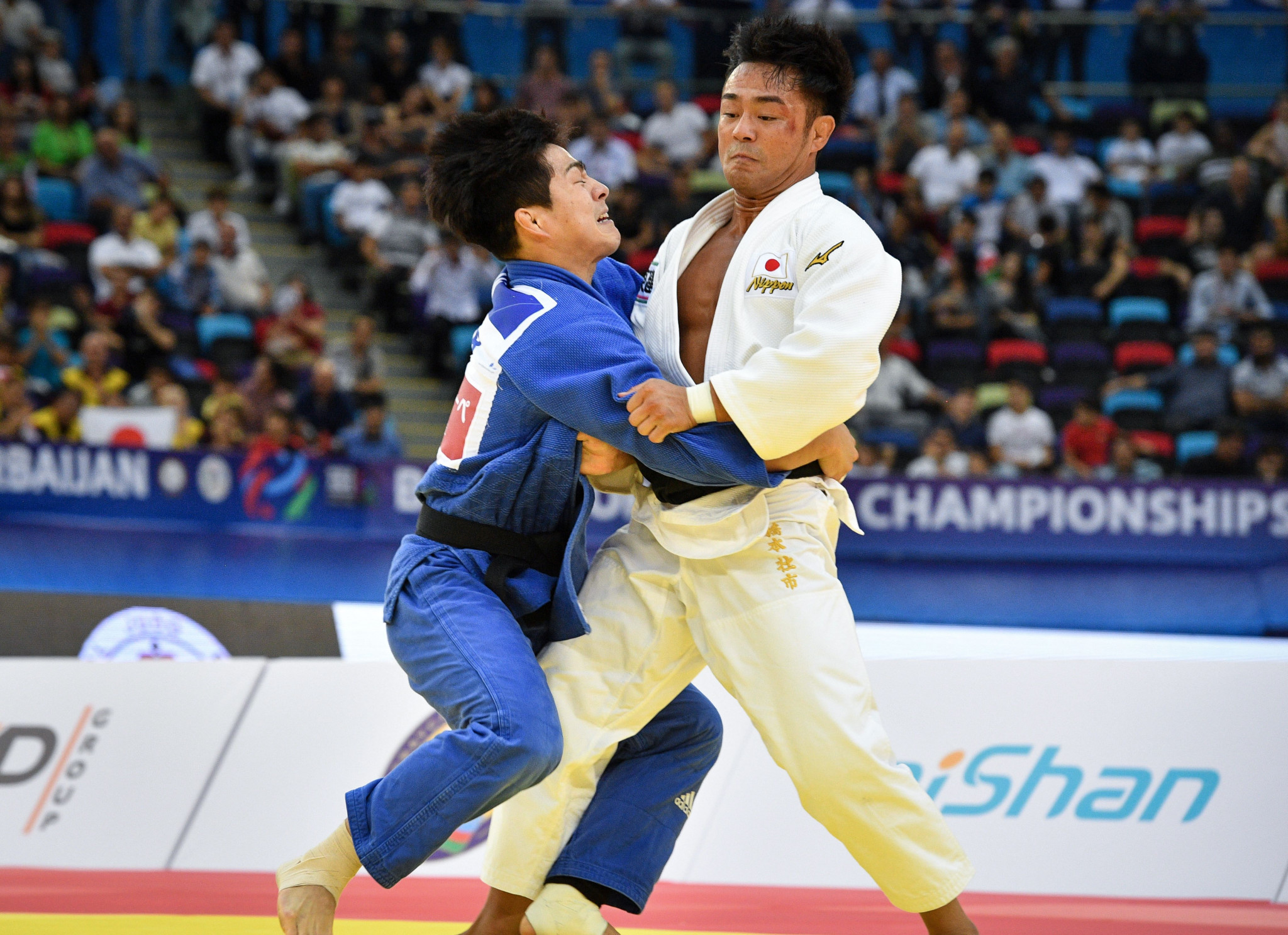 Two new champions crowned on day three of IJF World Championships