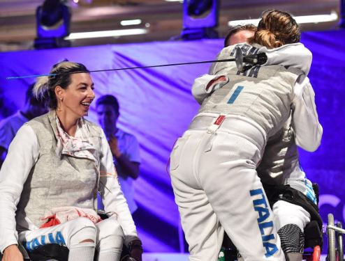 Italian hosts earn double team gold in IWAS European Wheelchair Fencing Championships