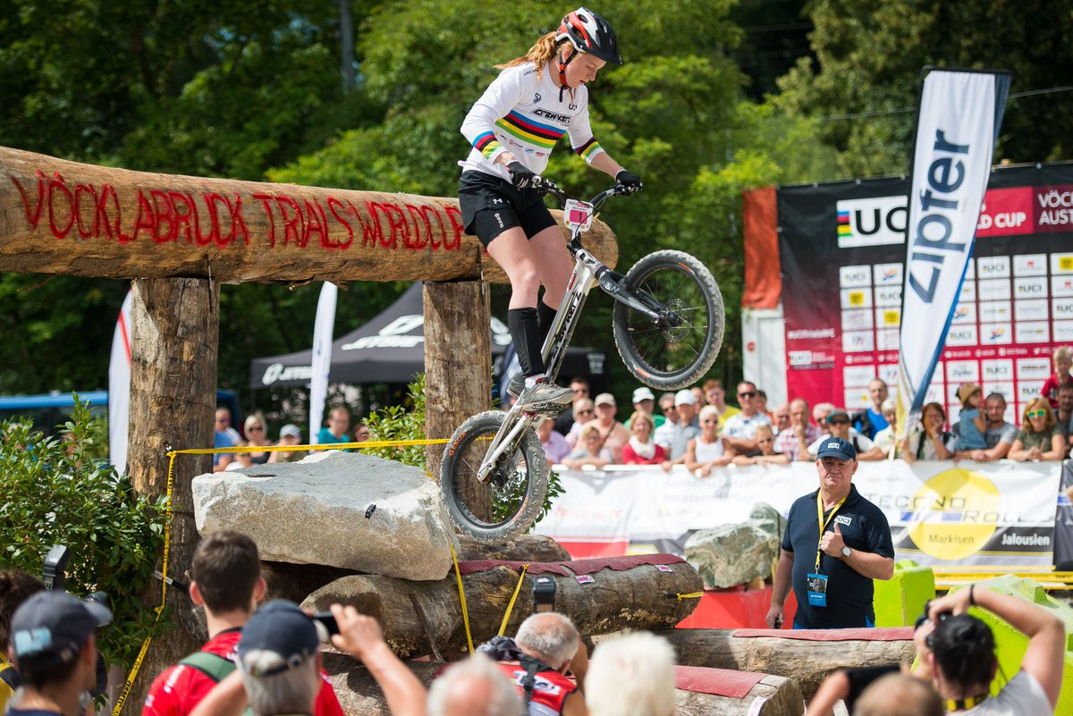 Reichenbach eases into final at UCI Trials World Cup in Antwerp