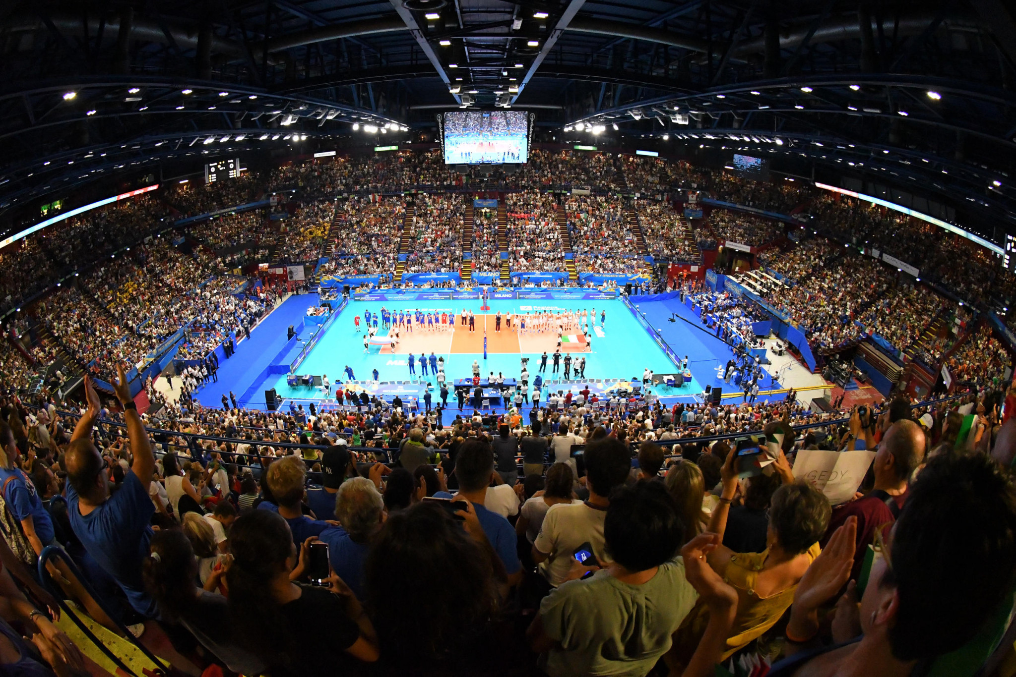 Co-hosts Italy through to Top Six despite first loss in FIVB Men's World Championships