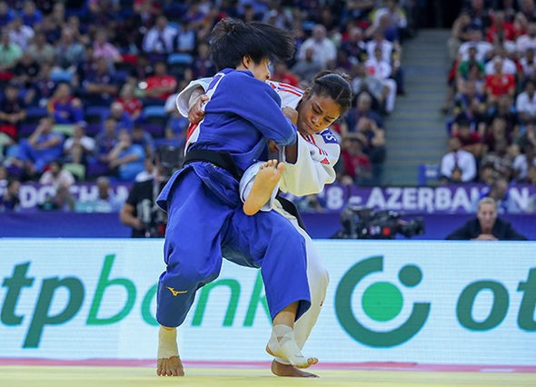 World Judo Championships: Day four of competition