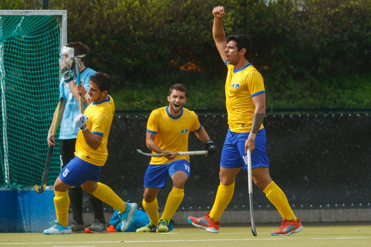 Brazil maintain perfect record in men's event at FIH Hockey Series Open in Santiago
