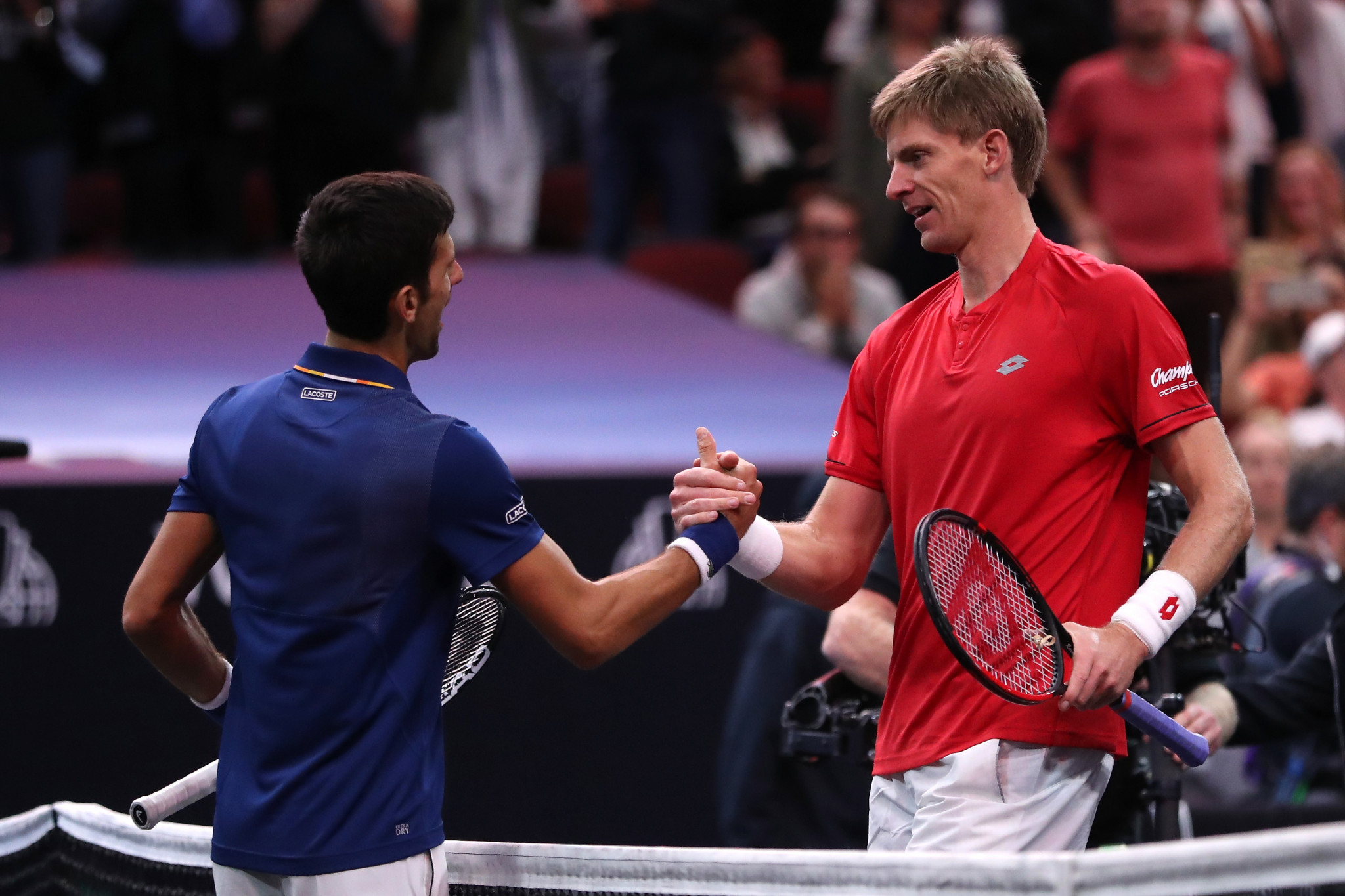 Anderson avenges Wimbledon final defeat to Djokovic but Team World still trail going into final day of 2018 Laver Cup