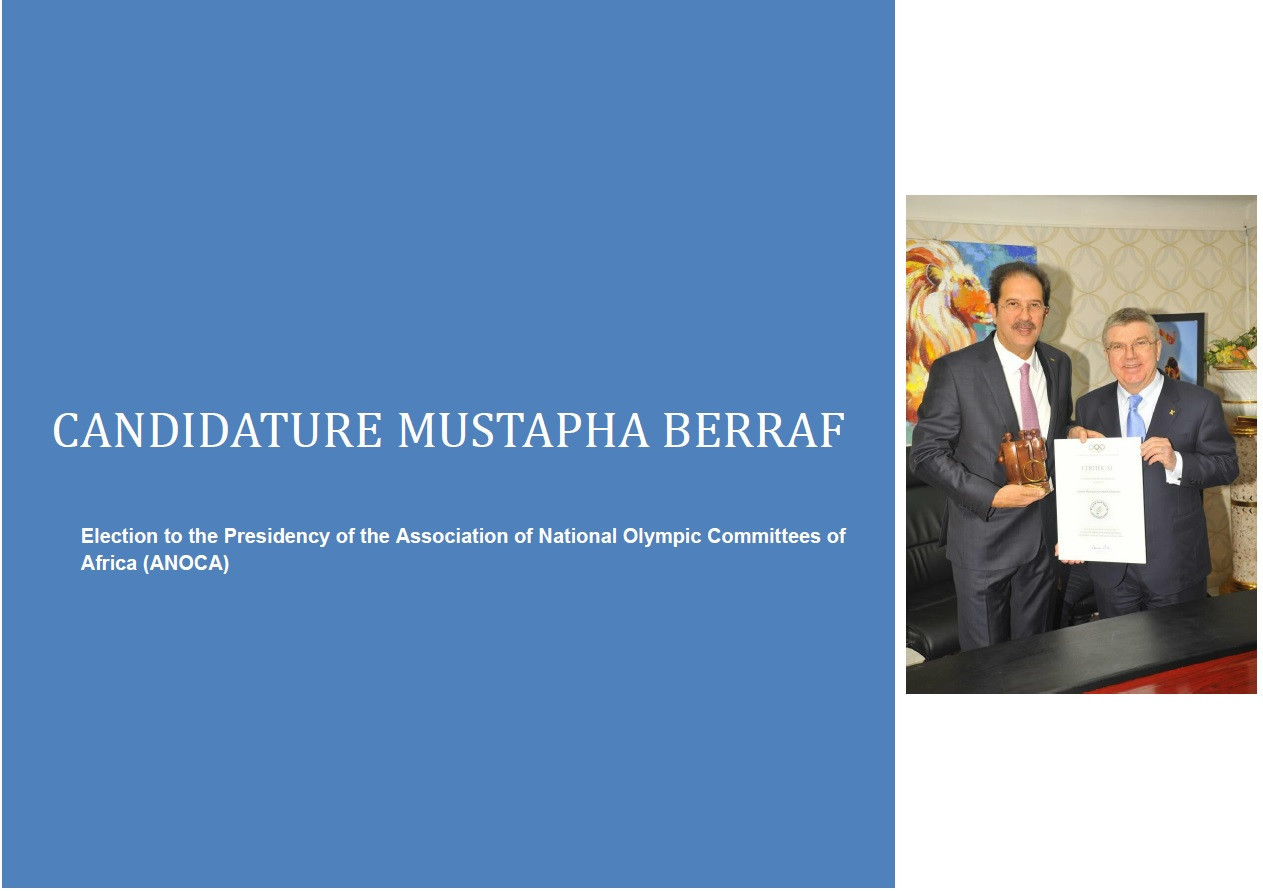 Mustapha Berraf has also declared his intention to stand for President and has released his manifesto ©Mustapha Berraf