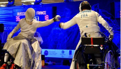 Russia and Ukraine top medals table at IWAS Wheelchair Fencing European Championships