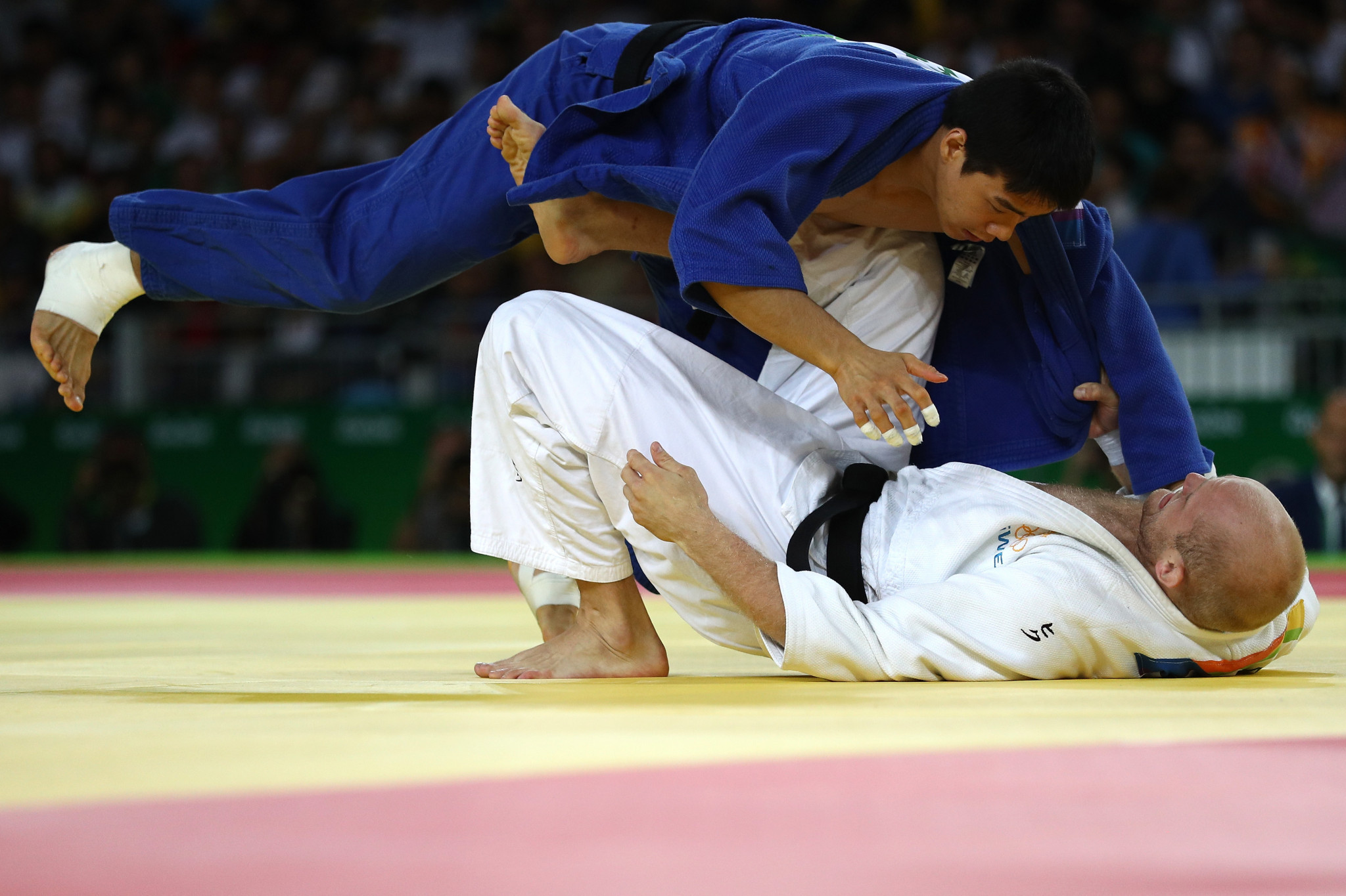 Asian Games gold medallist named on unified Korea's mixed team for World Judo Championships