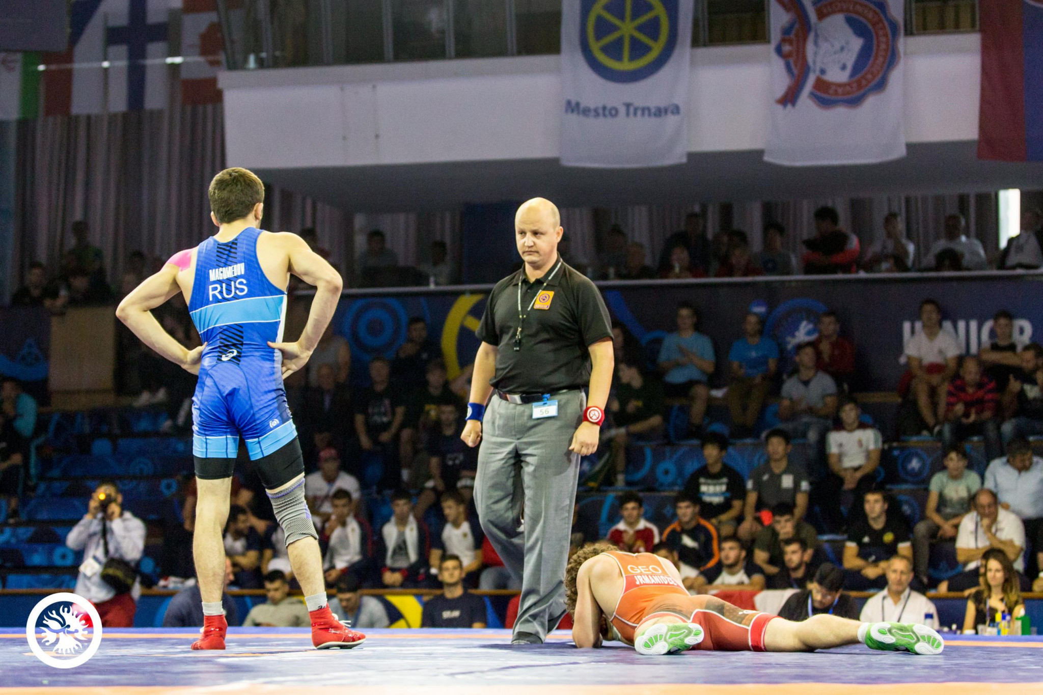 Russia claim two more golds to wrap up freestyle team title at UWW Junior World Championships
