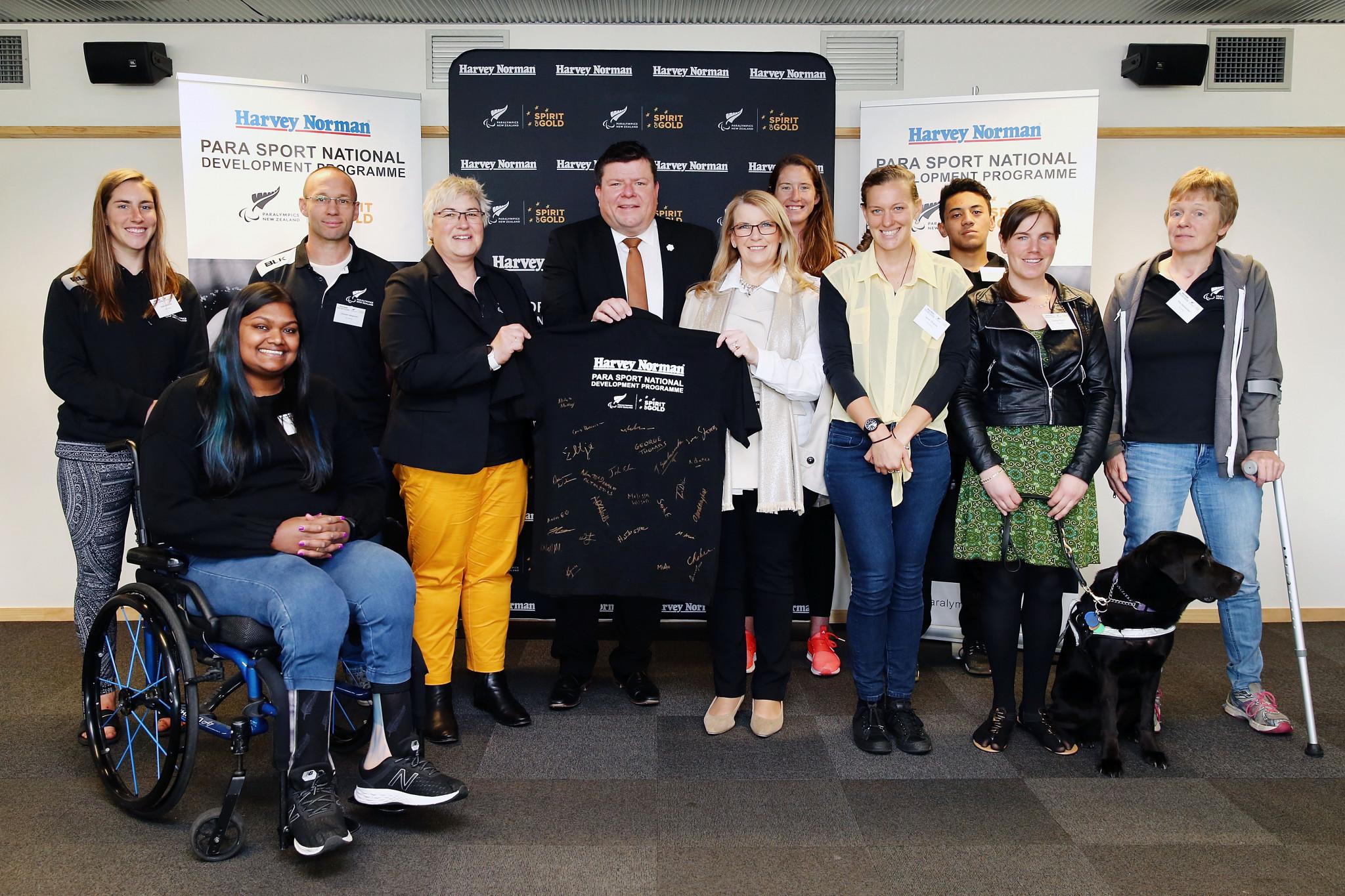 Paralympics New Zealand launch new development initiative