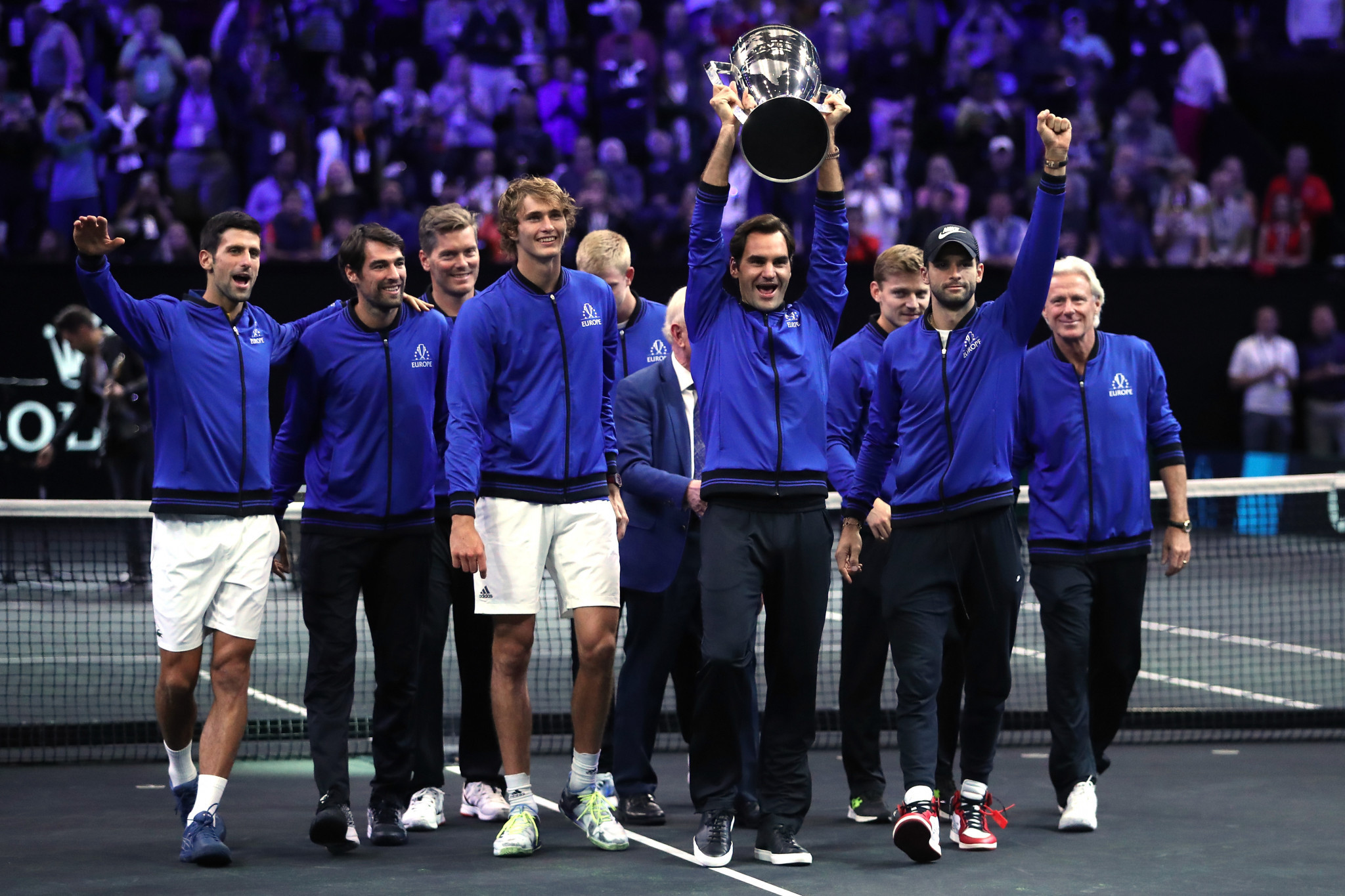 Zverev's win over Anderson confirms successful defence of Laver Cup by Team Europe