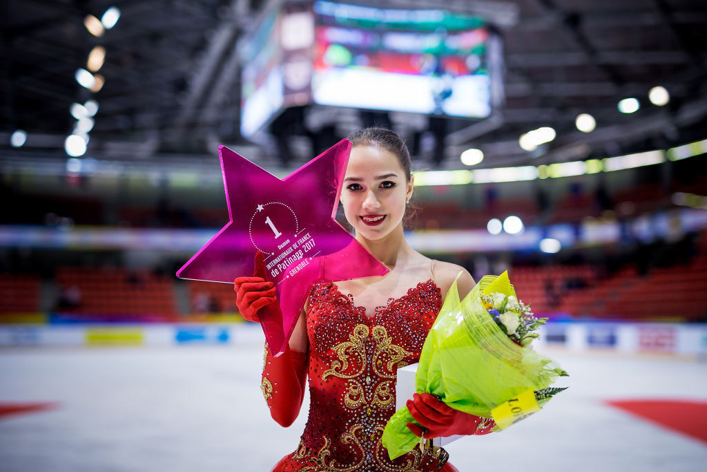 "Olympic figure skating champion Zagitova in ""fighting mood"" for new season"