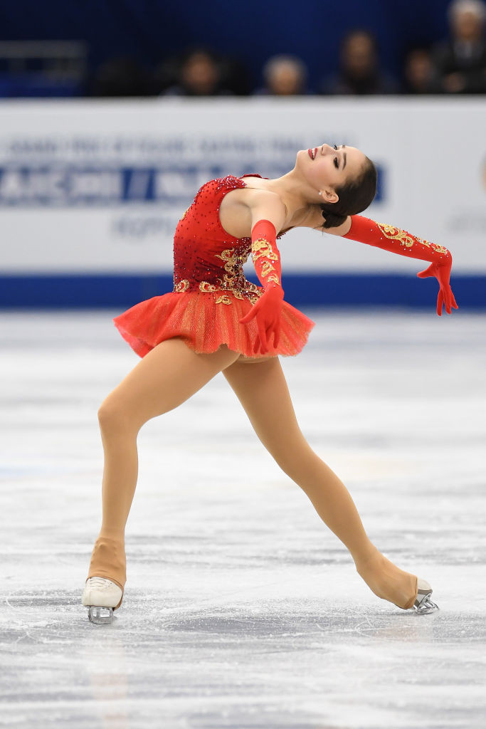 Russia's figure skating Olympic champion Alina Zagotiva has trialled new routines for her short and free programmes ahead of the forthcoming season ©FISU