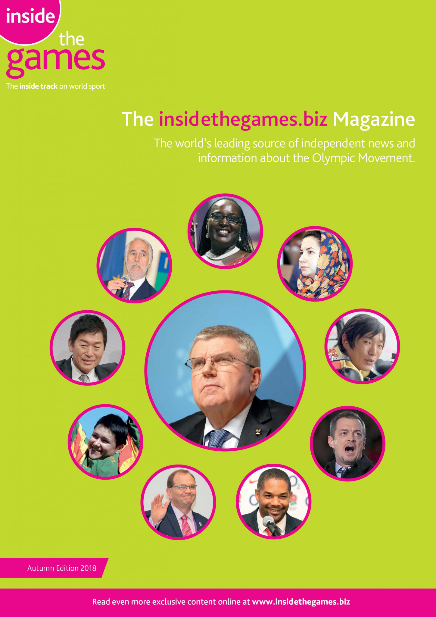 The insidethegames.biz Magazine Autumn Edition 2018