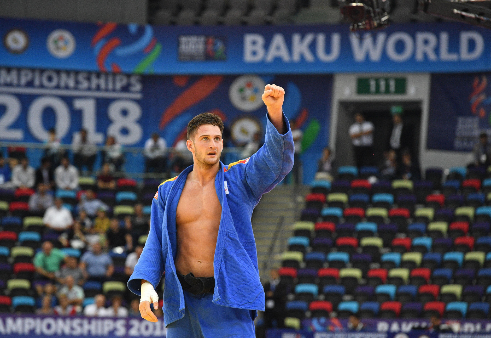 Sherazadishvili claims first senior men's title for Spain at World Judo Championships