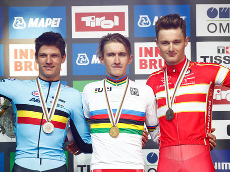 Bjerg and Ammerlaan take time trial golds at UCI Road World Championships