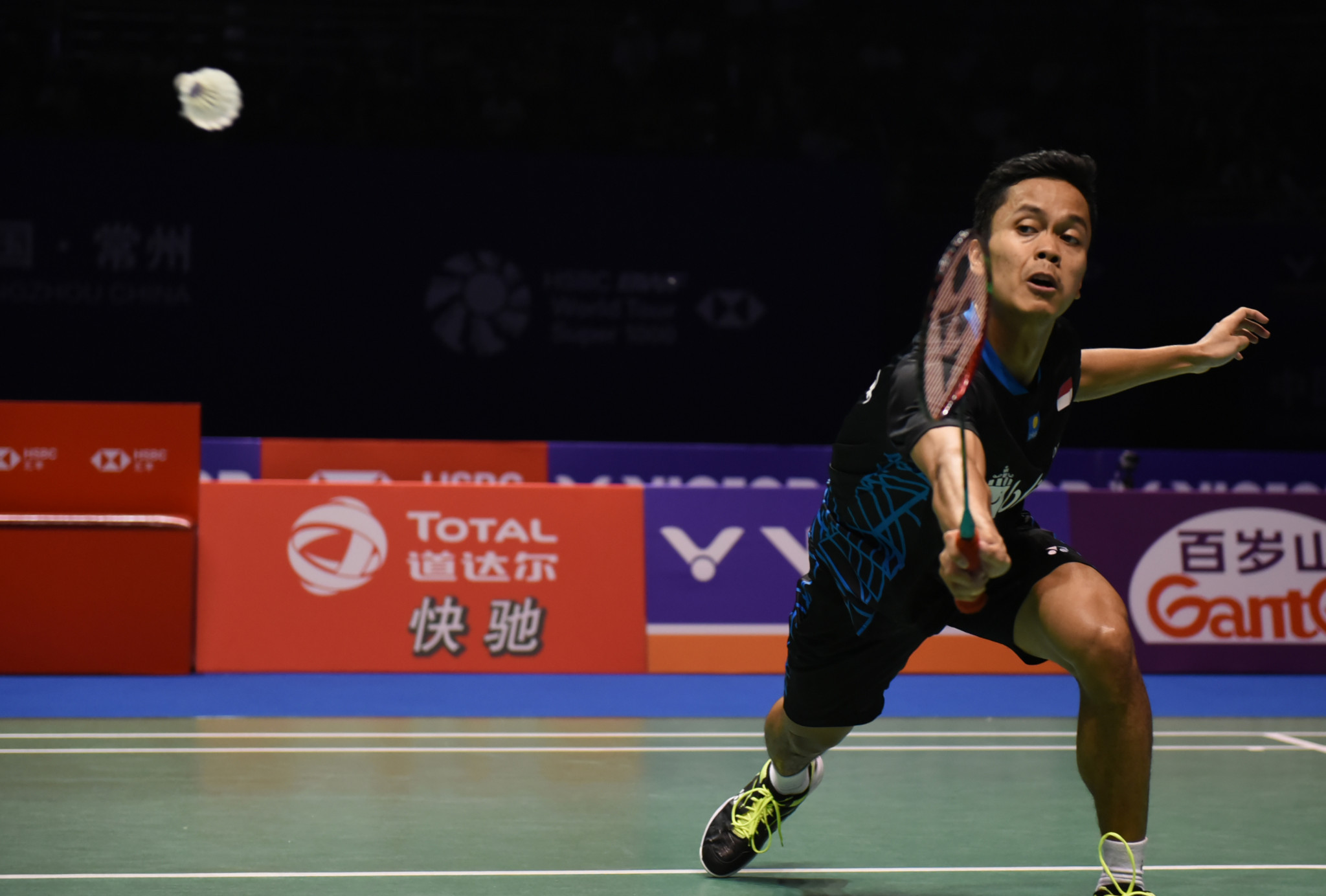 Anthony Ginting, surprise winner of the BWF China Open, now turns his attention to the Korea Open ©Getty Images
