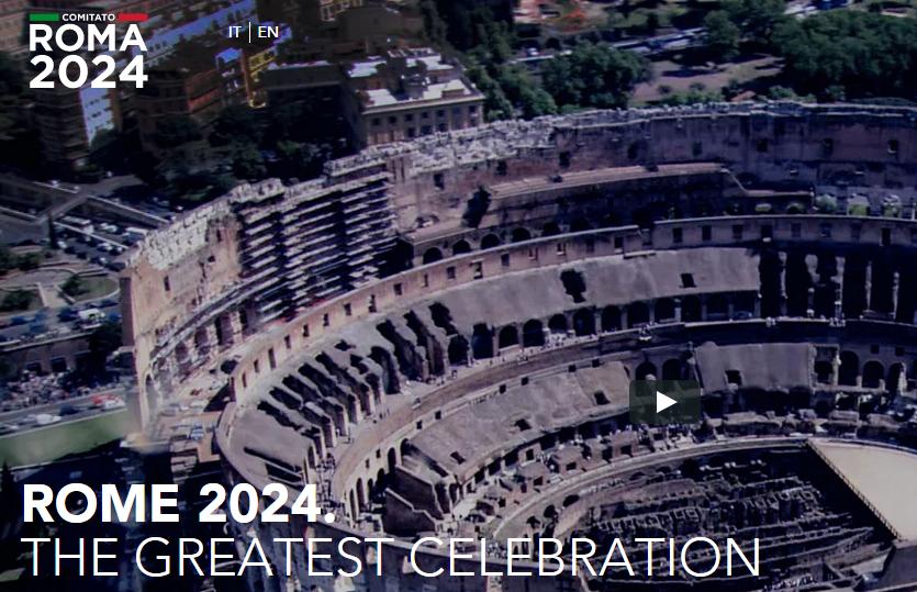 Rome 2024 unveil bid website as Games capitalising on iconic landmarks are promised