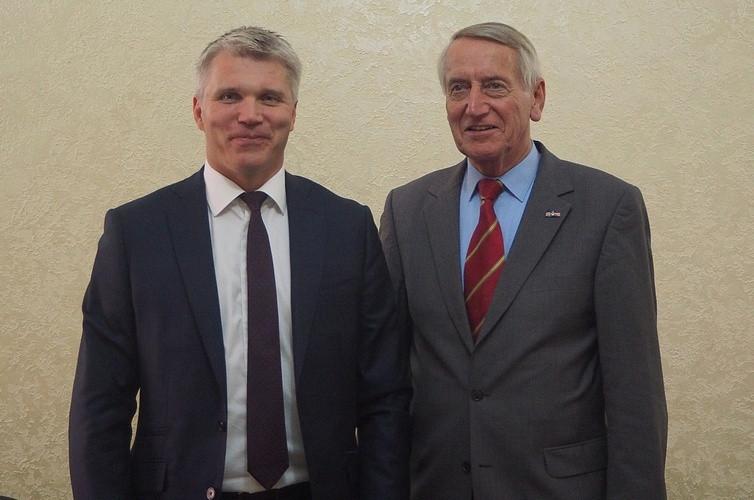 FAI President visits Russia to discuss air sports