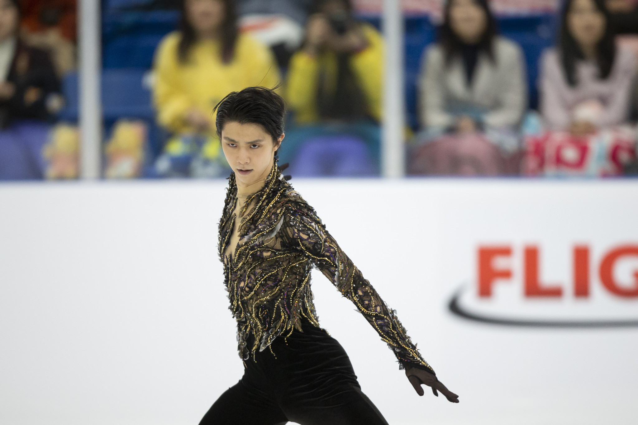 Yuzuru Hanyu was forced to recover from an ankle injury following the Winter Olympics ©Getty Images
