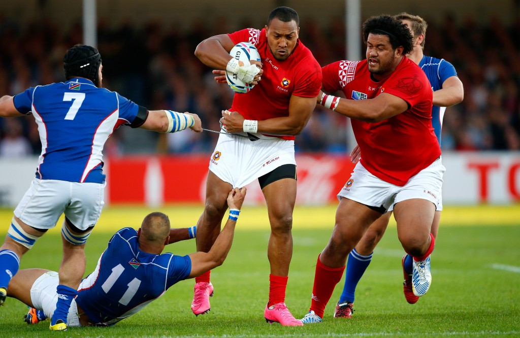 Tonga beat Namibia to keep alive Rugby World Cup qualification hopes