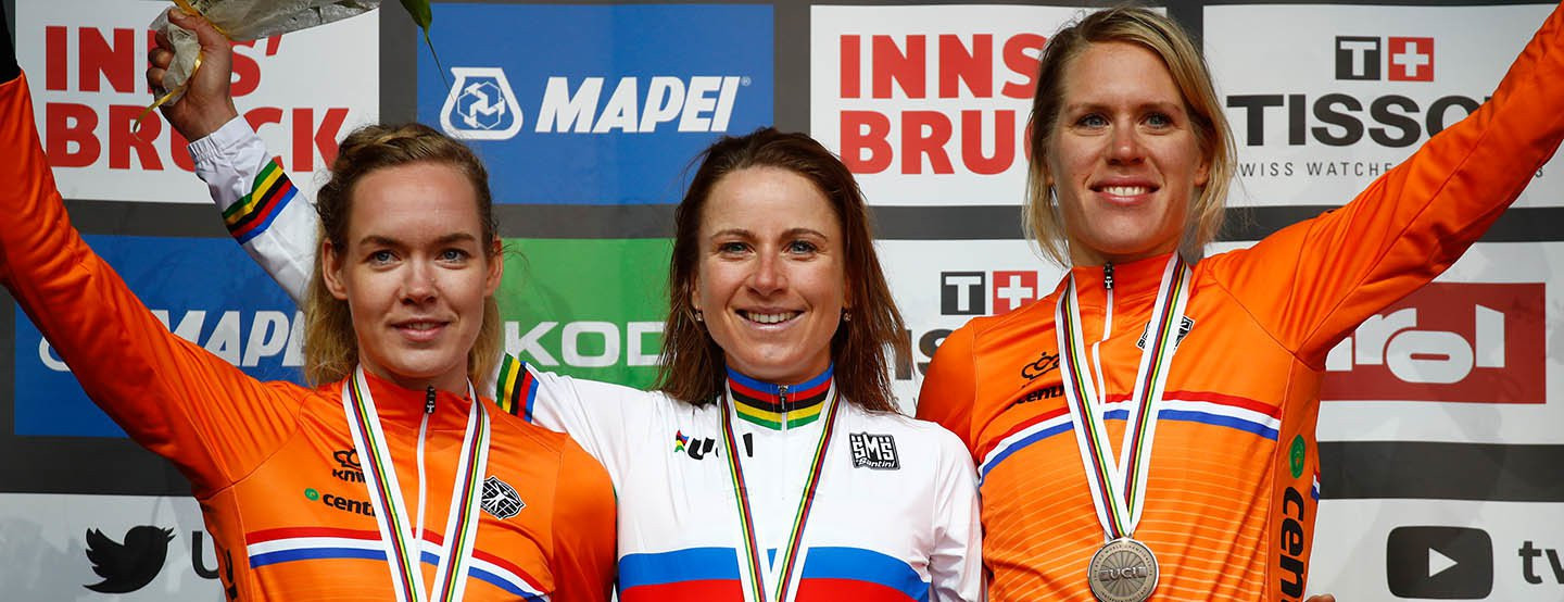 Van Vleuten leads Dutch clean sweep in women's time trial at UCI Road World Championships