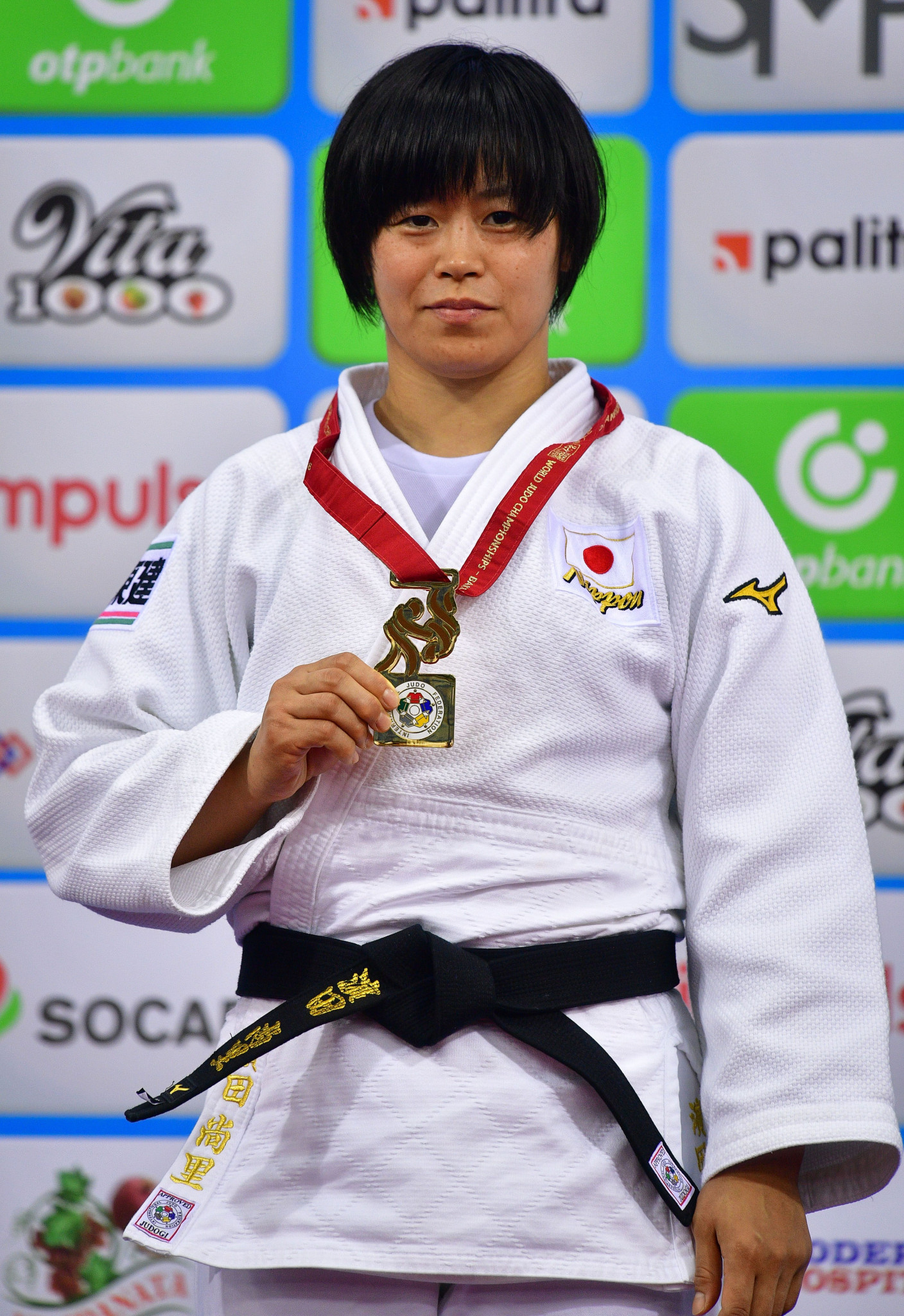 Japan's Shori Hamada wins gold at her first World Championships Six golds on day six for Japan at World Judo Championships ©Getty Images