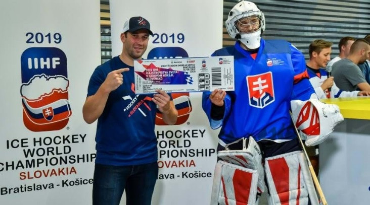 Tickets for next year's IIHF Ice Hockey World Championship tickets have been released ©IIHF