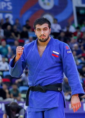Russia's Niyaz Ilyasov took bronze alongside Mongolia's Otgonbaatar Lkhagvasuren ©IJF
