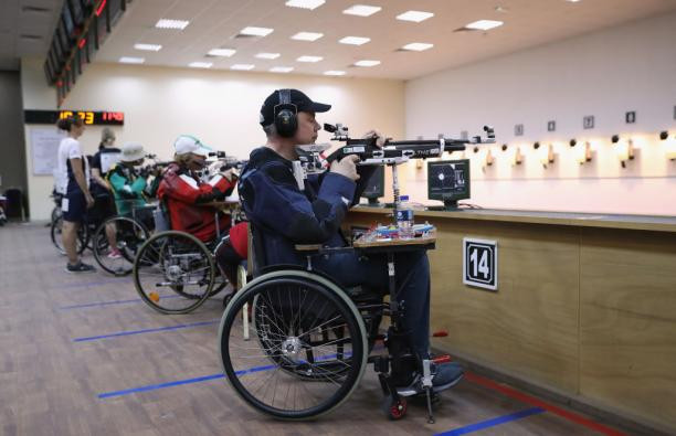 Smith beats Hiltrop to win gold at World Shooting Para Sport World Cup in Chateauroux