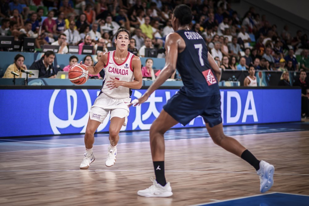 Canada beat France to reach FIBA Women's World Cup quarter-finals
