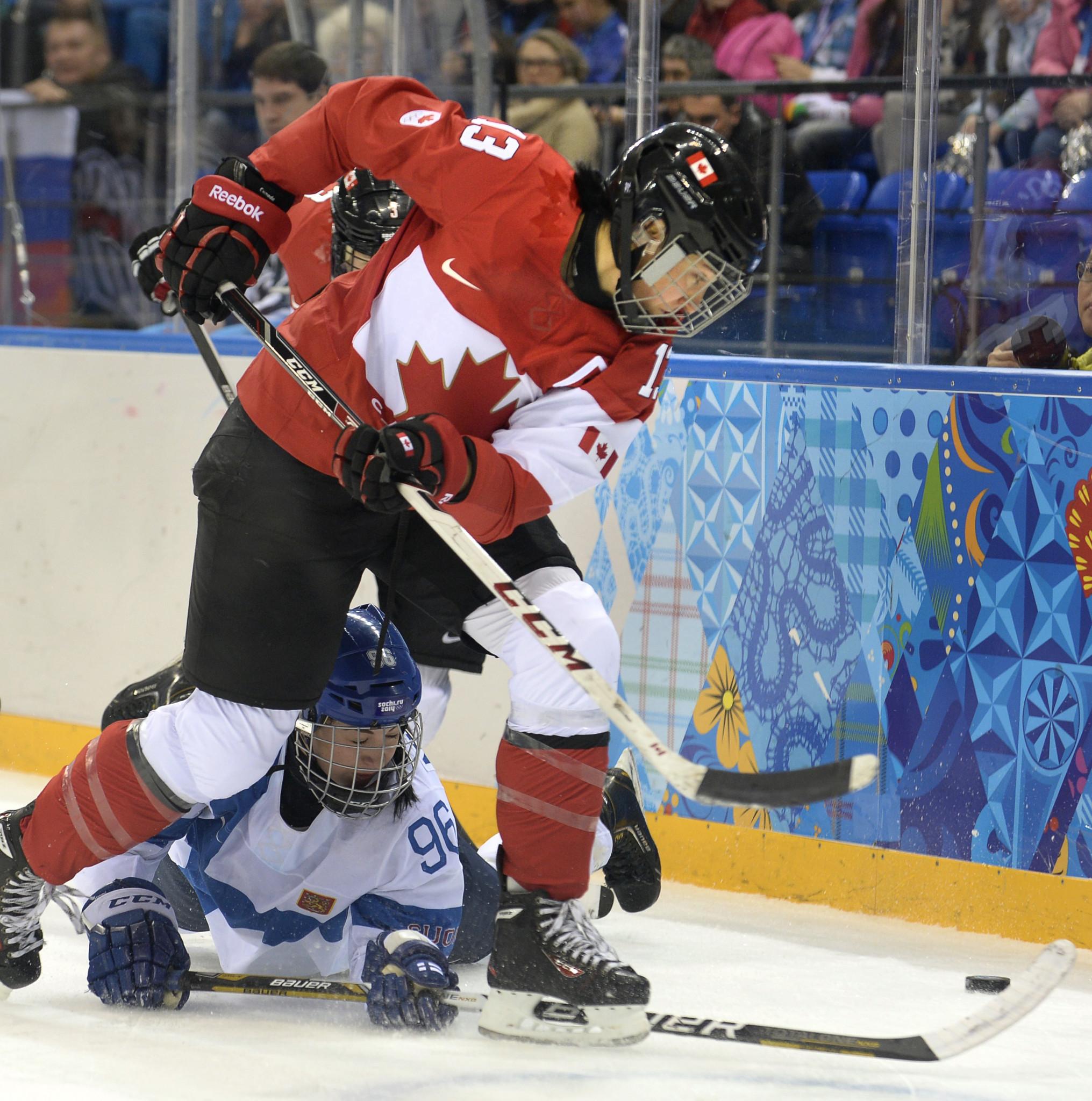Quadruple Olympic gold medallist Ouellette announces ice hockey retirement