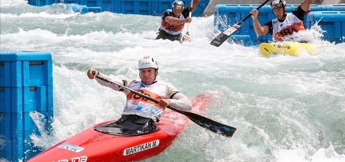Slovakia wins eighth consecutive C1 team title at ICF Canoe Slalom World Championships
