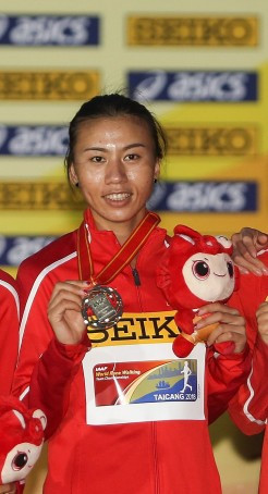 Hosts China dominate women's event at IAAF Race Walking Challenge in Taicang