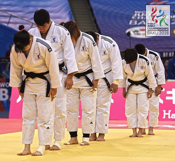 World Judo Championships: Day eight of competition