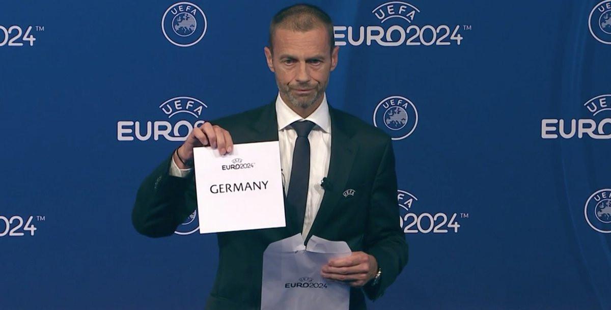 Germany awarded UEFA Euro 2024