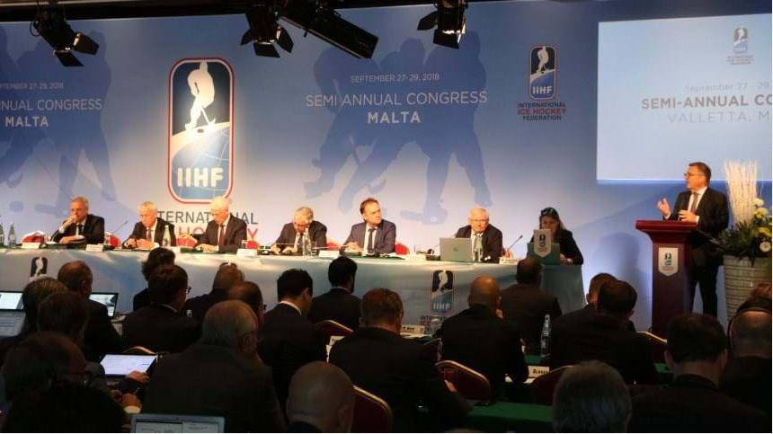 International Ice Hockey Federation begin biannual Congress in Malta