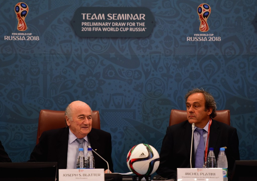 Michel Platini has attempted to explain the nine-year delay in receiving a
