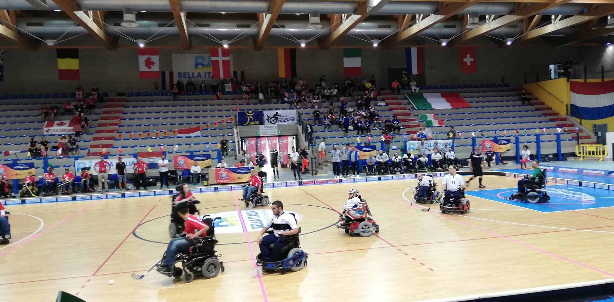 Hosts Italy recorded their second consecutive victory today ©IWAS